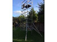 Used Aluminium schaffold tower