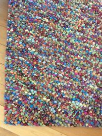 Jelly beans rug multicolour