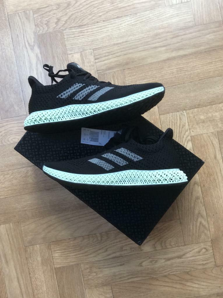e9b48689e1c00 Adidas Futurecraft 4D UK size 9 boxed new labels attached continental soles