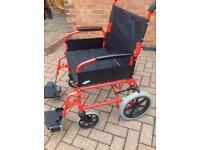 Lomax wheelchair, large user