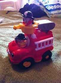 Fisher Price Little People Fire Engine