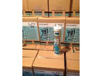 Silicone sealant adhesive fixing weatherproofing wall panels etc.... GREAT PRICE,,,,