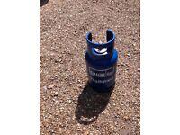 Gas bottle 7kg blue full