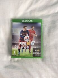 FIFA 16 for microsoft xbox 1 game console video game
