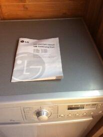 LG 7 kg Condenser dryer