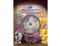 Disney My Favourite Friends box set - 5 books and audio CD - excellent used condition