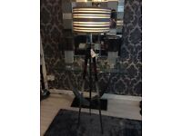 5A Fifth Avenue Chrome Tripod Floor Lamp * NEW WITH TAGS £50 ono *