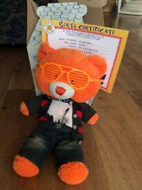Orange Build a Bear