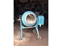 Cement mixer 110v perfect working order £40 old coulsdon surrey