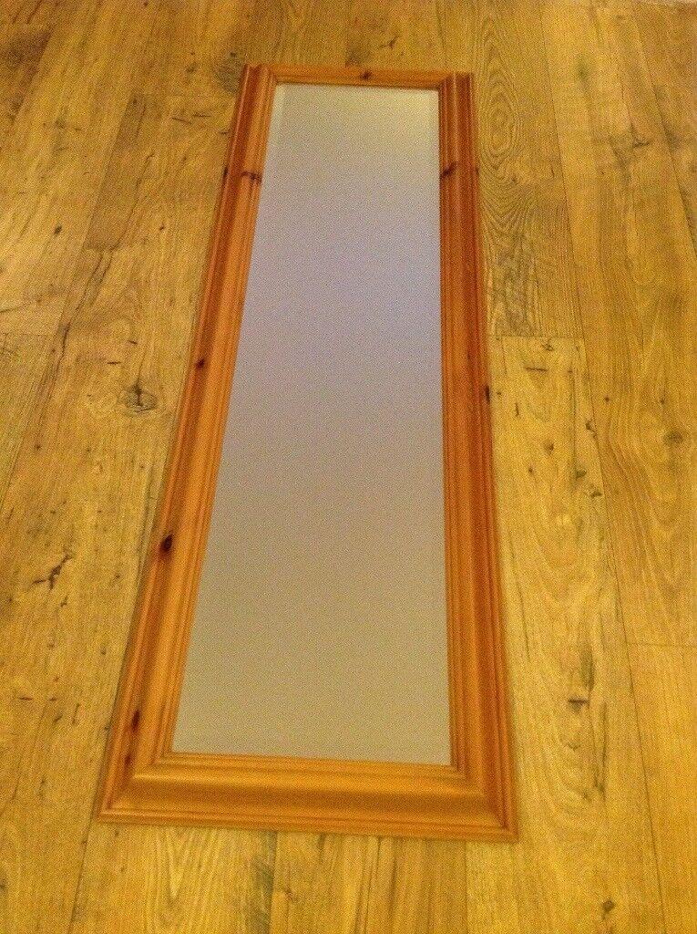 Full Length Pine Mirror