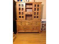 Solid oak dresser for sale