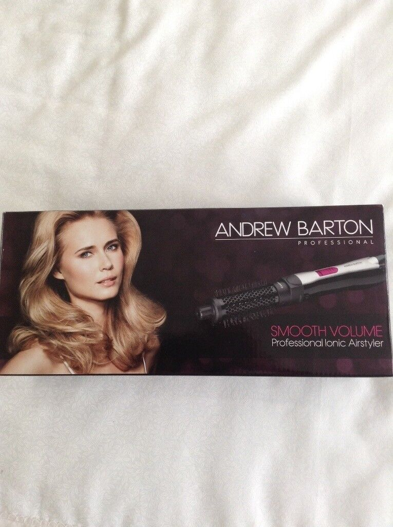 New Andrew Barton smooth volume 800W hot air styler