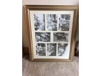 Photo frame 8 apertures 23 x 19 inch