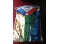 New shirt multi coloured size XL