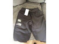 Canterbury waterproof trousers age 12 years