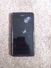 Sony Xperia z2 screens broke 15 bargain for a little project