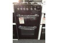 Flavel Milano G50 black cooker. £249. 12 month Gtee