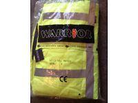New Warrior Nevada Hi Vis Jacket Large