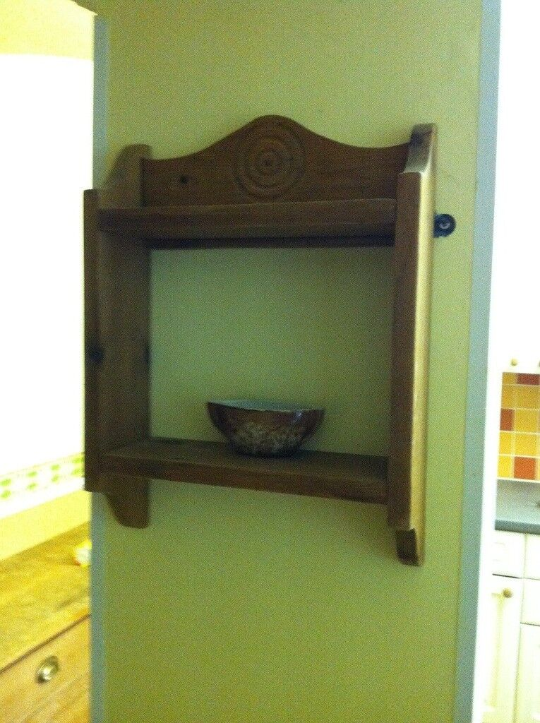 Cute wooden shelf unit