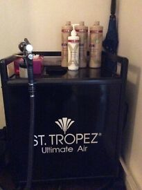 St Tropez professional Spray tanning booth and machine