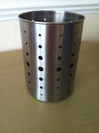Ikea Stainless steel utensils pot