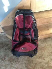 Travel bag / backpack / with wheels