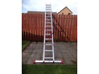 Extension ladders - 2 sections going to 7m (23')