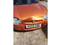 MGF metallic orange