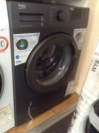 Beko 8kg 1400spin washing machine. Anthracite. A+++ energy rated. £229. New/graded 12 month Gtee