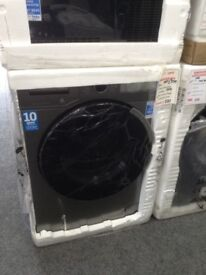 Beko graphite washing machine. 8kg 1400spin. A+++ energy rated. New/graded 12 month Gtee