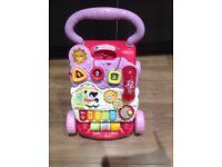 Vtech baby walker (pink)