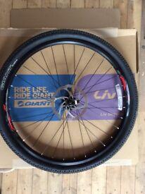 Giant Mountain bike wheels 27.5 with tyres