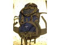 Karrimor Back Country 65 Backpack & Large Jacket in Bag
