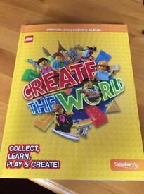 Sainsbury Create the World Lego cards