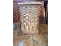 Large One off commissioned vintage Willow Storage basket.Used for toys.Could be used for laundry etc