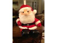 Father Christmas Soft Toy