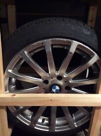 """Winter Tyres with rims BMW 18"""""""