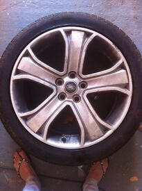 20inch 4 Range Rover Sport wheels and tyres