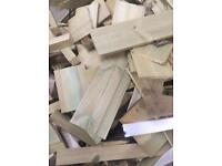 Timber offcuts 1 tonne sacks free collection