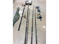 Boat rods and reels