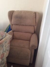 Remote control Sit to stand electric recliner chair