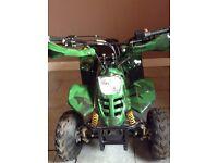 110cc camouflage quad bike