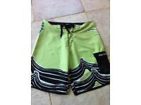 Men's swim shorts size large