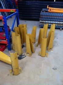PALLET RACKING FORKLIFT GUARD