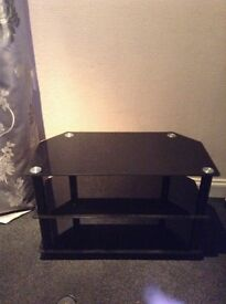 Black glass to stand local delivery £15