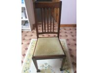 DINING CHAIRS (8)