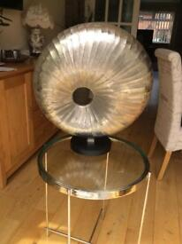 Ripples Abstract Silver Shell Sculpture interior design must