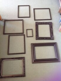 Picture Frames - all black to frame collections