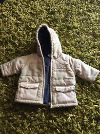 Baby boy designer coat