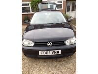Golf 2L GTI MKIV Very Nice example- Long MOT. SENSIBLE OFFER CONSIDERED